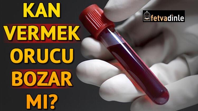 Cübbeli Ahmet Hoca Kan Vermek Orucu Bozar mı